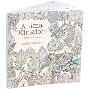BNIB NEW UNUSED Animal Kingdom Adult colouring book