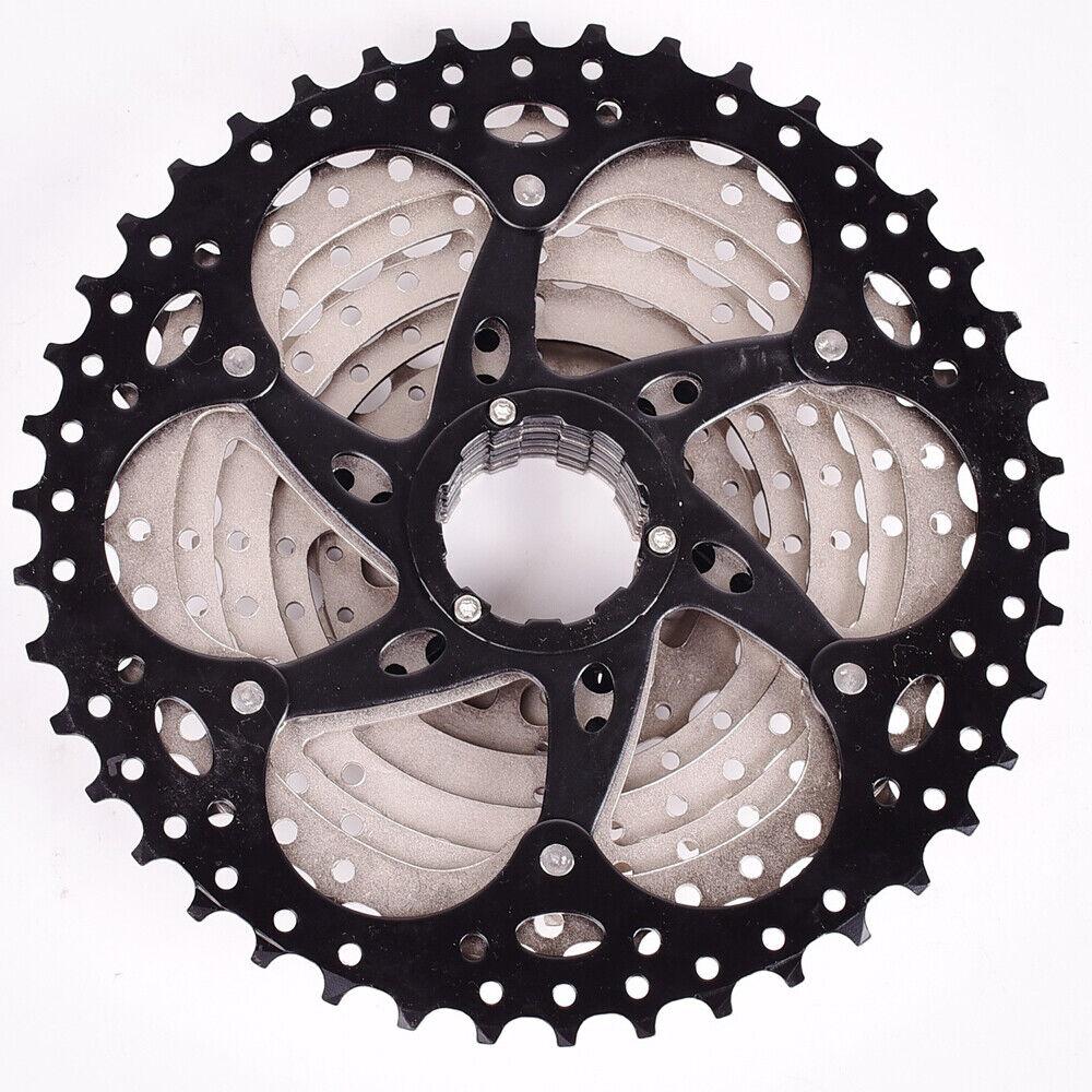 SUNSHINE MTB Bike 9 Speed 11-42T Cassette Flywheel Black fit Shimano Sram US New
