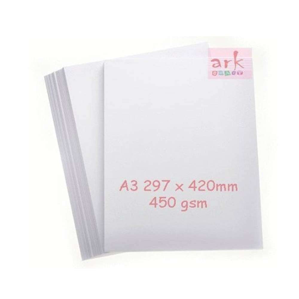 A3 White Card 450gsm Vision Superior 10 sheets Super Thick