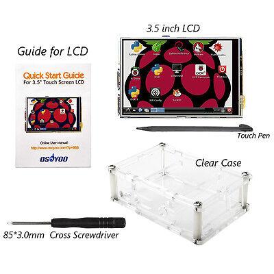 "3.5"" LCD Display Touch Screen Board w/ Case for Raspberry Pi 2 Pi 3 RPI2 PRI3 US"
