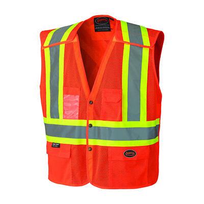 Pioneer V1021950u-s Safety Vest Hi-vis Orange Small Qty 1