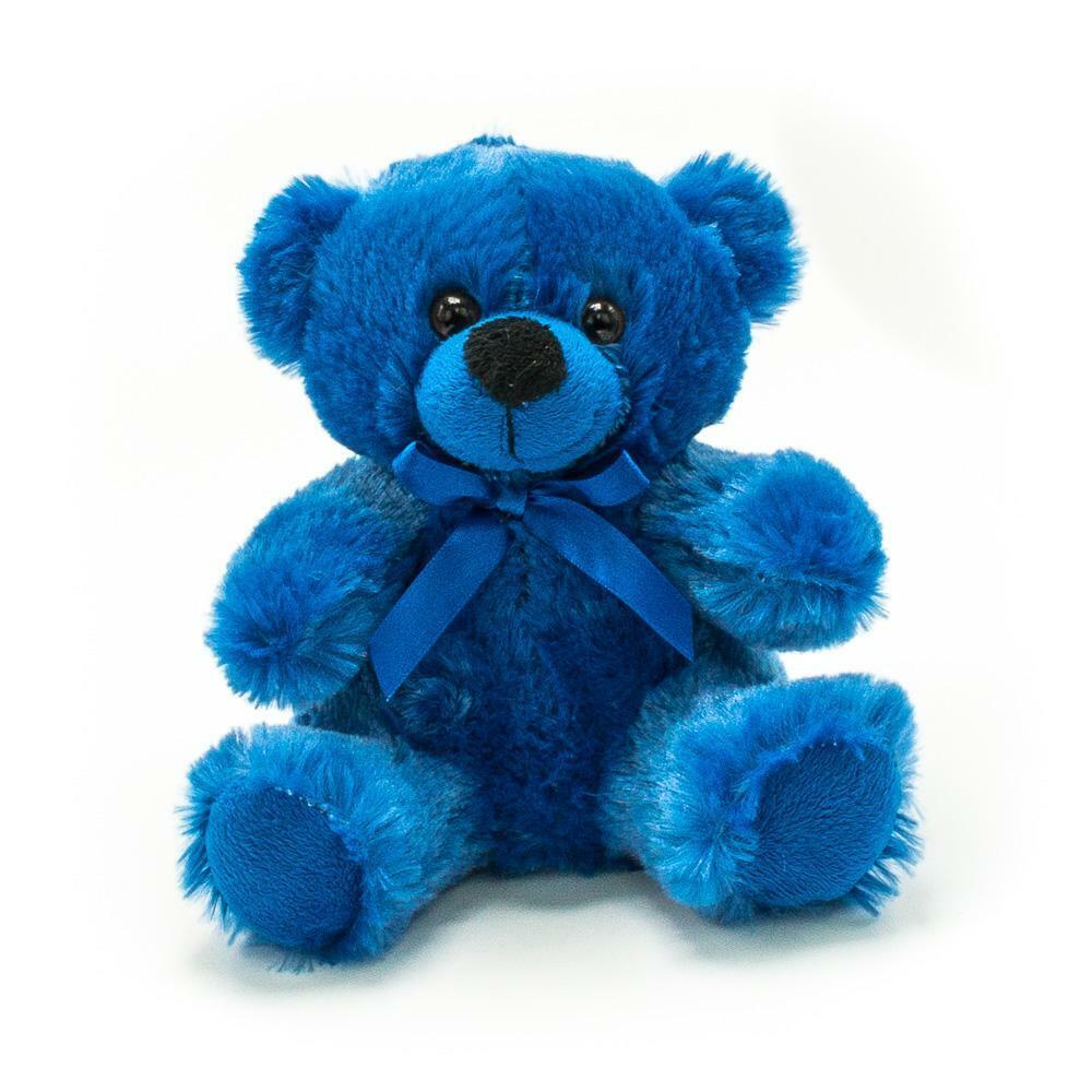 Картинка синий медведь