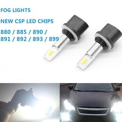 2x 110W 880 CSP LED Fog Lights Bulbs for 1999-2002 Chevrolet Silverado 2500