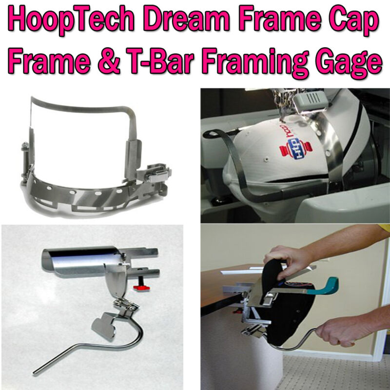 Gen 2 HoopTech Dream Cap Frame & T-Bar Gage Brother all PR600 Series & BabyLock