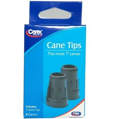 Carex Cane Tips Black 1inch A720