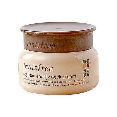 Innisfree SoyBean Energy Neck Cream 80ml Free gifts