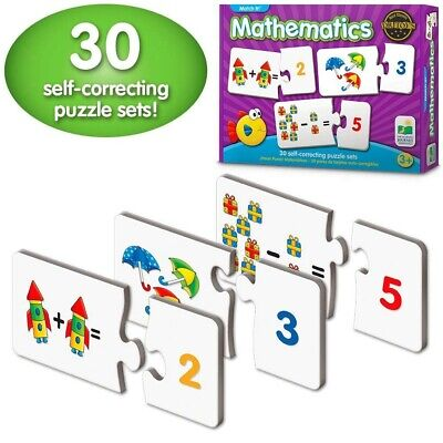 1Learning Toys for 4 Year Olds Best Girls Boys First Counting Puzzle - Educational Toys For Boys