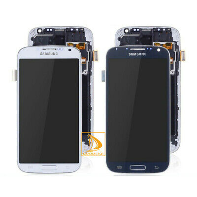 Samsung Galaxy S4 i9505 LCD Black Display Digitizer Touch Screen Frame Replace