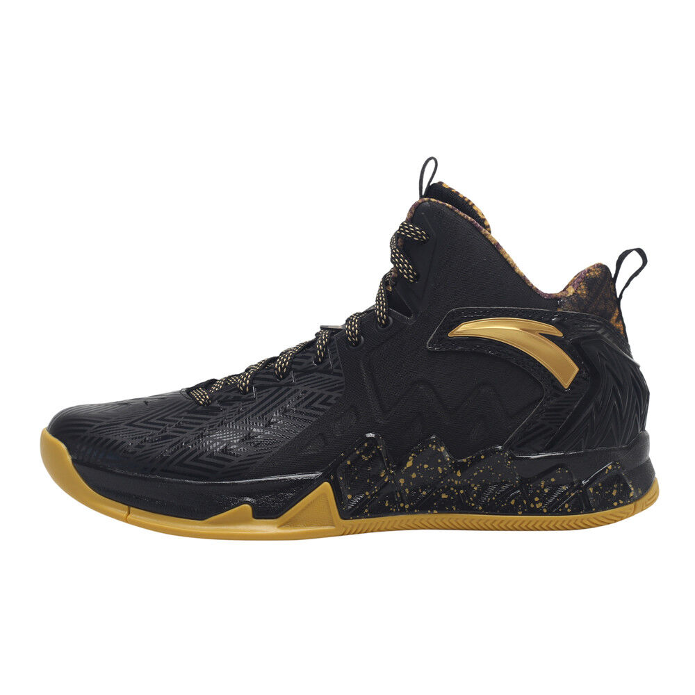 e4ab87e61237 ANTA KT2 Black Basketball Shoes Competition Sneaker Professional Athletic  Shoes фото