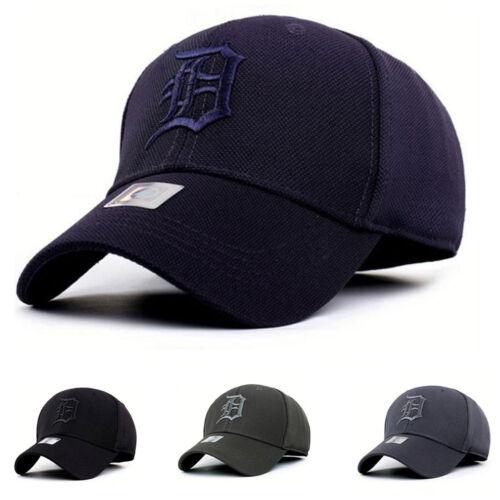 Unisex Stretch Snapback bestickt Baseball Cap Verstellbar für Damen Herren