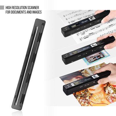 Portable Wireless Scanner A4 900DPI JPG/PDF LCD Display Docu