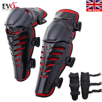 Racing Motocross Knee Pads Protector Adult Body Guards Protective Gear Shin Pads