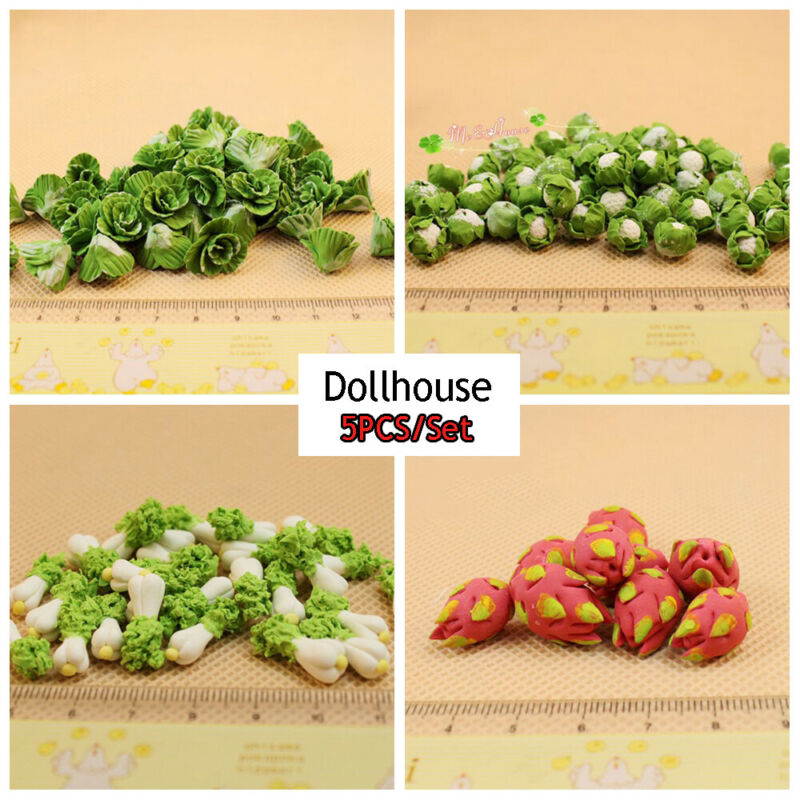 1:12 dollhouse miniature Mini wok meal sushi vegetables candy food toy Random