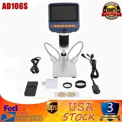 Andonstar Ad106s Usb Digital Microscope 4.3 Hd 1080p For Smd Soldering Repair