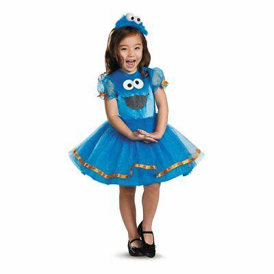 2t Monster Costume (New 123 Sesame Street Cookie Monster Toddler Costume Small)