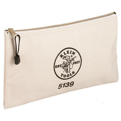 Klein Tools 5139 Canvas Zipper Bag Klein Tools Canvas Zipper Bag