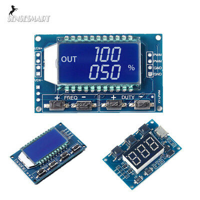 Pwm Signal Generator Module Adjustable Pulse Frequency Duty Cycle Square Wave