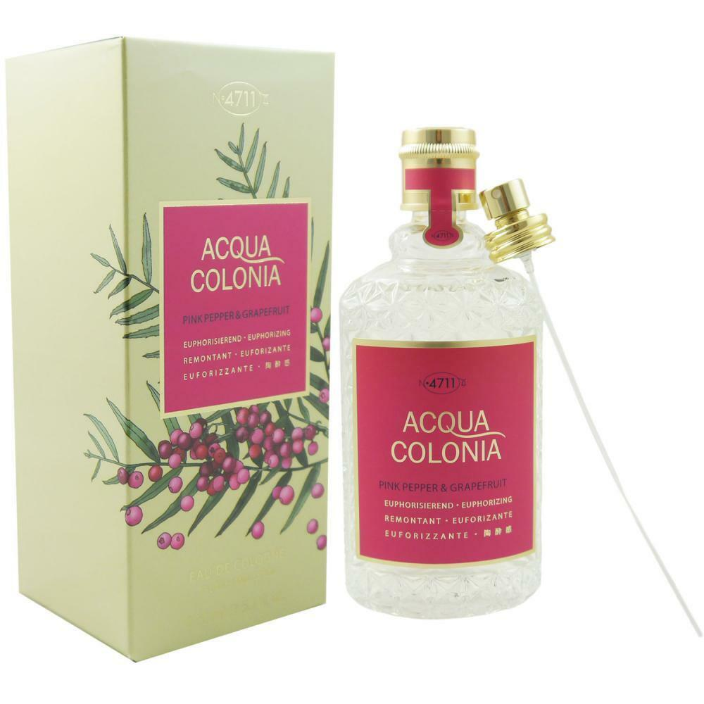 4711 Acqua Colonia 170 ml Eau de Cologne EDC - verschiedene Sorten  Pink Pepper  Grapefruit