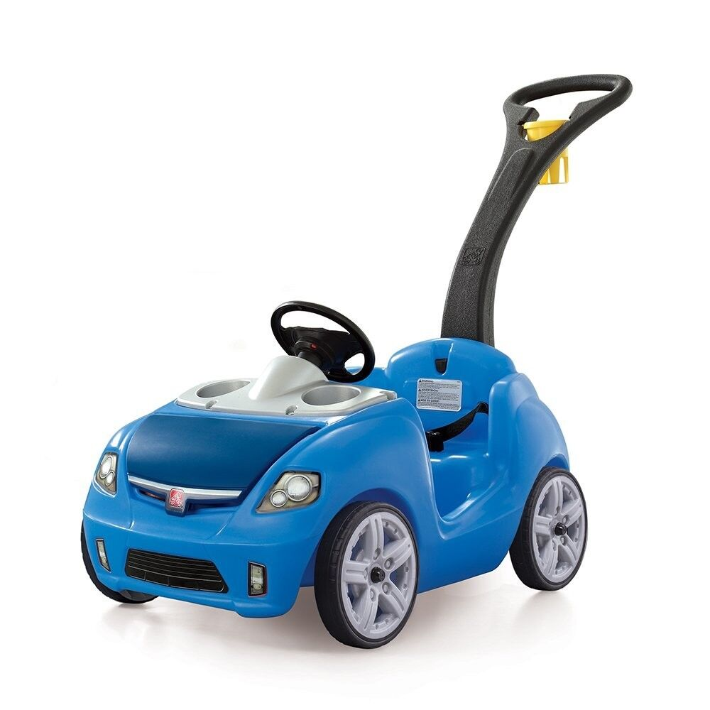 NEW Step2 Whisper Ride II Ride On Push Car Toy For Kids, Tod