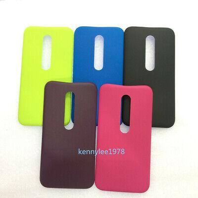 Für Motorola Moto G (3rd Gen) G3 XT1541 Batterie Cover Rückseite Akku Deckel