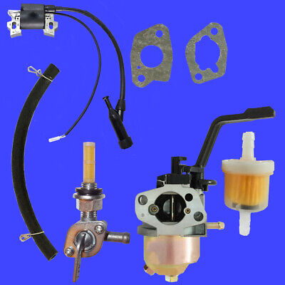 Lct Carburetor W Right Petcock Coil For Cm-2600-kmlb 2600 Pressure Washer