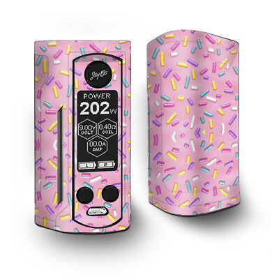 Skin Decal for Wismec Reuleaux RX Gen3 Dual Vape / Sprinkles Cupcakes ice cream