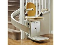 Acorn 180 Curved Stairlift with Modular Track