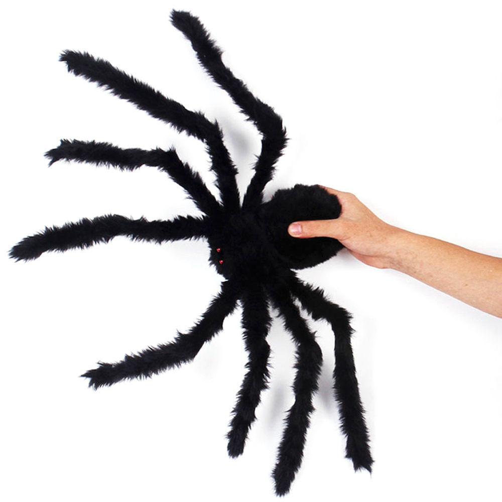 Cheer Halloween Plush Spiders Araneid Prop