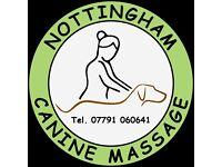 Nottingham Canine Massage - Rehabilitation of Soft Tissue Injury, Support of Orthopaedic Conditions