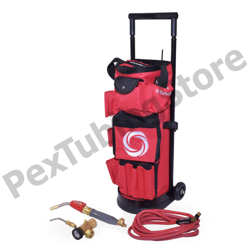 TurboTorch 0386-0578 TDLX 2010B Carrier Roller Outfit Tote Kit, Air Acetylene