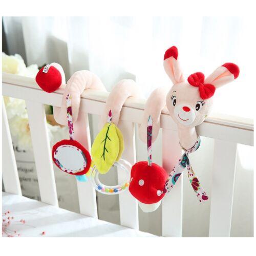 Kinderwagenkette Spielzeug Spirale Babybett Babyschale Activity-Spirale Toys DE