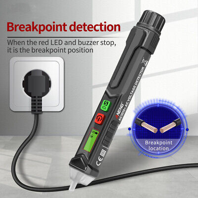 Non-contact Ac Volt Detector Lcd Display Voltage Electrical Tester Pen