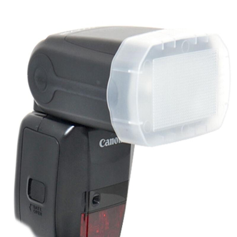 JJC Flash Bounce Diffuser Cap Box for Canon 600EX-RT, YONGNUO YN-600EX, 600EXII