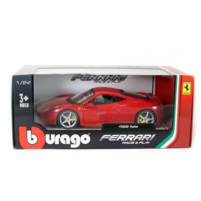 Bburago Ferrari 458 Italia (Red) 1/24 Scale