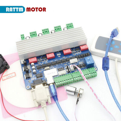 4 Axis Tb6560 Usbcnc Stepper Motor Controller Driver Board For Nema23 Cnc Router
