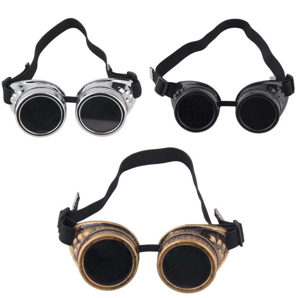 Retro Steampunk Sunglasses Vintage Hexagon Men Glasses New Goggles Gothic Punk