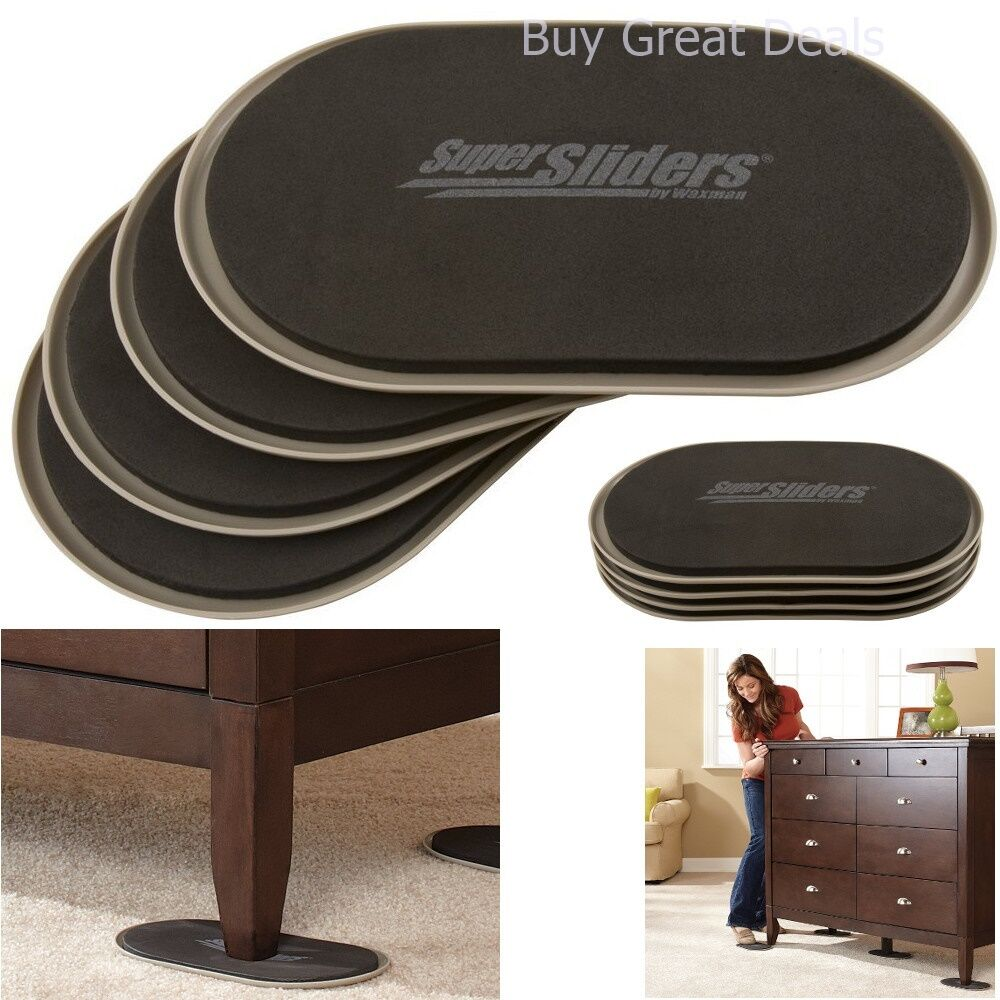 Furniture Sliders Pads Movers Carpet Wood Floors Moving Heavy Household New  9 9 of 9 See More - Furniture Sliders Pads Movers Carpet Wood Floors Moving Heavy