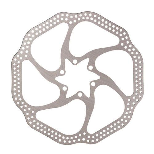 Bicycle Bike 6-bolt Brake Disc Rotor 160mm/180mm For Shimano