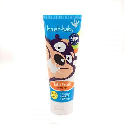 Brush-Baby Childrens  Toothpaste 3-6 years  tutti-fruiti  50mls X1