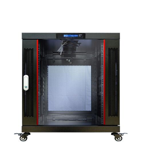 "12U Server Rack Cabinet Enclosure Premium Series Sysracks 35"" Depth"