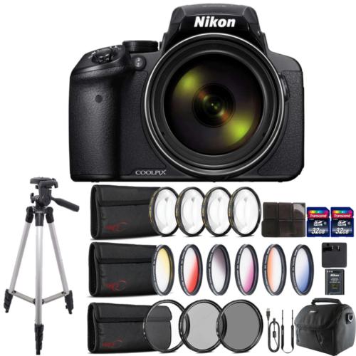 Nikon COOLPIX P900 Digital Camera with 83x Optical , WiFi en