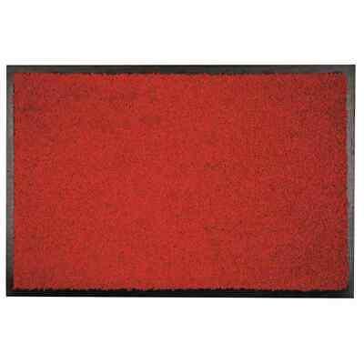 Alfombrilla Zanzíbar Rojo 60x120cm Suciedad Bodenmatten Felpudo Casa