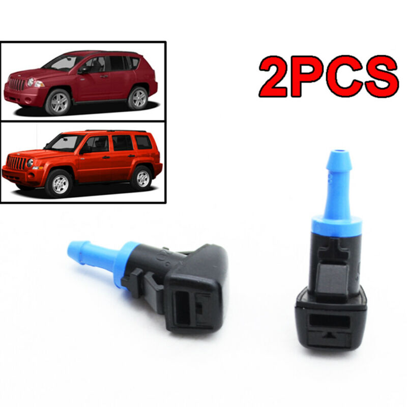 Front Windshield Wiper Nozzle for Volvo Volkswagen Pack of 2