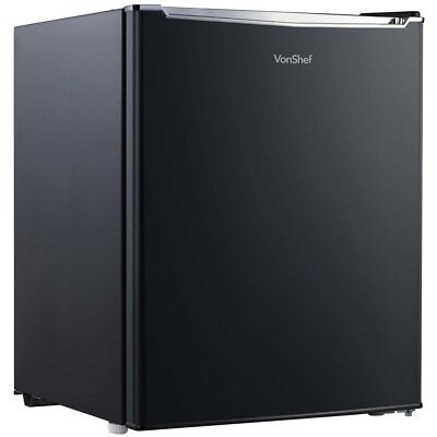 Table Top Small Freezer Black Compact Mini Fridge Kitchen Office Dorm Home 35L