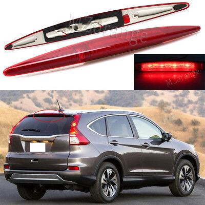 Honda Cr V Tail Lamp (For Honda CR-V CRV 2012-2016 Red Shell Tail Light High Mount 3rd Brake Stop Lamp )