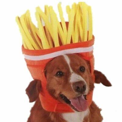 Hunde Pommes Kopf Fun Costums Fasching Halloween Karneval Kostüm für Hunde L/ XL