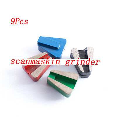V Segt Diamond Grinding Pad Block 403411 For Concrete Stone Scanmaskin Grinder