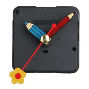 Quartz-Silent-Clock-Movement-Mechanism-Flower-Hand-DIY-Repair-Part-Kit