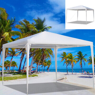 3x3m Heavy Duty Canopy Tent Outdoor Garden Waterproof Gazebo Marquee Party Patio