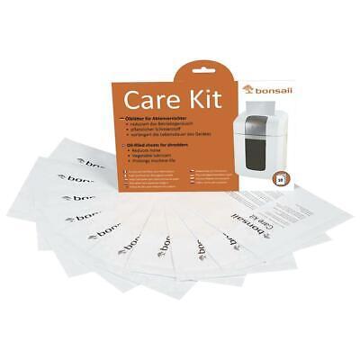 bonsaii Ölblätter für Aktenvernichter Ölpapier Reinigung Pflege Kit 10er Pack